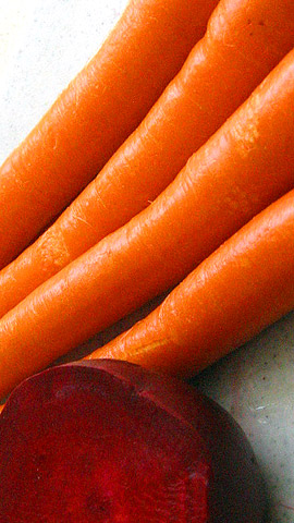 carrots and beet