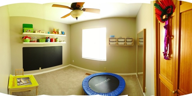 our Son-Rise playroom