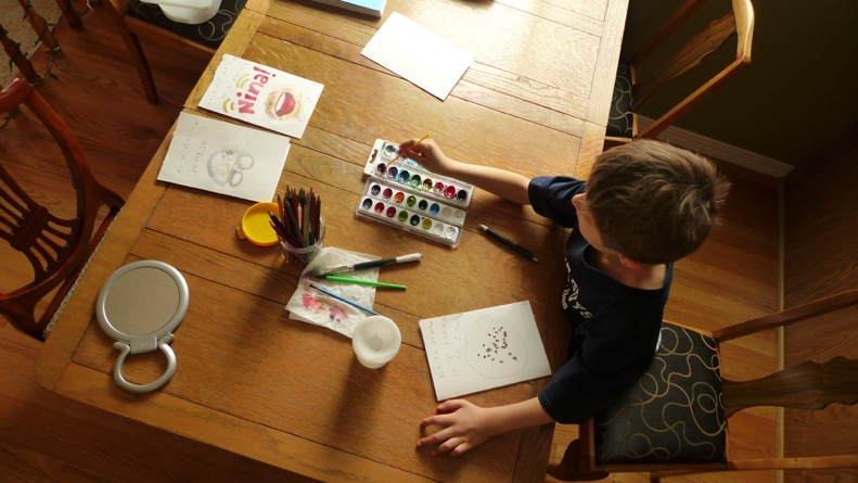 illustrating with watercolors